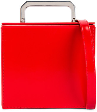 Bottega Veneta Messenger Bag in Bright Red | FWRD