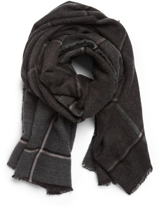Banana Republic Windowpane Blanket Scarf