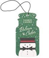 Yankee Candle Classic Car Jar Air Freshener - Christmas