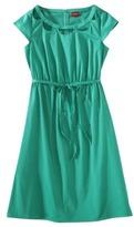 Merona Women's Sateen Cutout Neck Dress - Assorted Colors