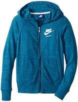 Nike Sportswear Vintage Full-Zip Hoodie Girl's Sweatshirt