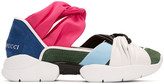 Emilio Pucci Multicolor Colorblock Sneakers