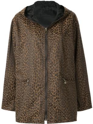 Fendi Pre-Owned Reverislbe Hooded Coat