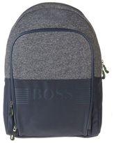 BOSS GREEN New Mens Blue Pixel Polyamide Backpack Backpacks