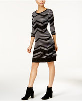 Taylor Printed Sweater Dress