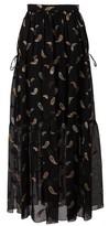 Chloé Lurex skirt