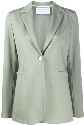 Harris Wharf London One-Button Blazer