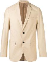 Theory classic blazer - men - Cotton/Spandex/Elastane/Cupro - 38