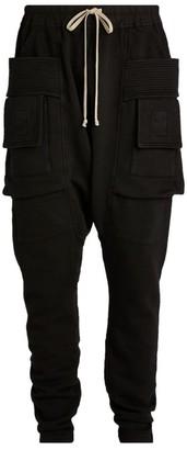 Rick Owens Dropped-Crotch Cargo Sweatpants