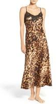 Natori Women's Leopard Nightgown