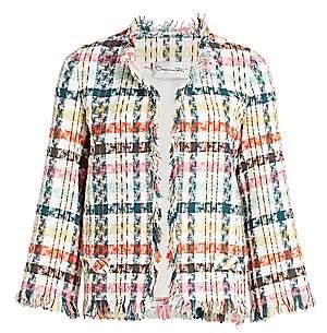 Oscar de la Renta Women's Spring Tweed Suit Jacket