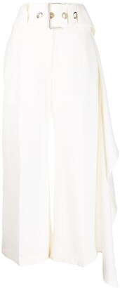 J.W.Anderson Belted Cropped Trousers