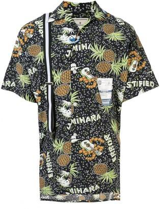 Maison Mihara Yasuhiro Pineapple Print Shirt