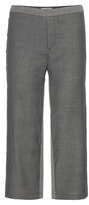 M. Patmos Cropped Wool Trousers