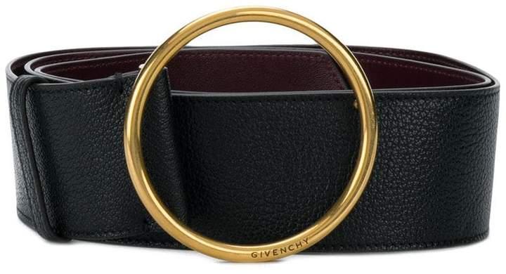 Givenchy geometric buckle belt