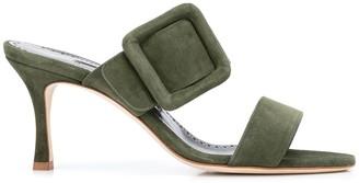 Manolo Blahnik Gable buckled sandals