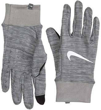 Nike Heathered Sphere Running Gloves 3.0 (Iron Grey Heather/Grey Fog/Silver) Gore-Tex Gloves