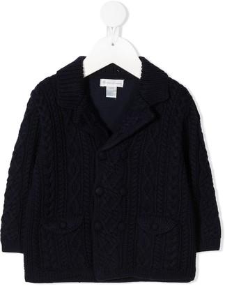 Ralph Lauren Kids Double-Breasted Knit Jacket