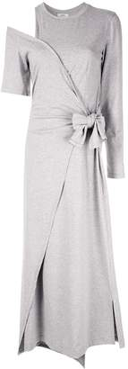 GOEN.J asymmetric midi dress