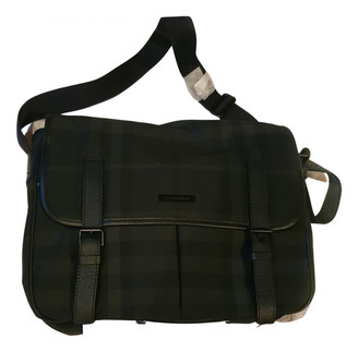 Burberry Grey Synthetic Bags