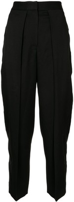 Stella McCartney Tapered-Fit Cropped Trousers
