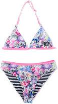 Vingino flower print bikini set - kids - Polyamide/Polyester/Spandex/Elastane - 14 yrs