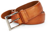 Black Brown 1826 Coated Leather Belt