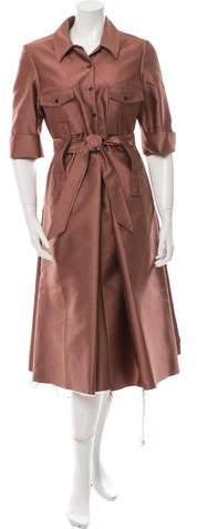 Yang Li Short Sleeve Mid Dress w/ Tags