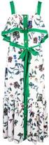 Derek Lam 10 Crosby botanical print maxi dress