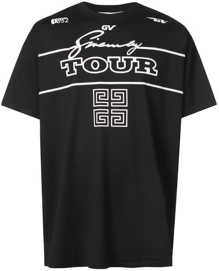 Givenchy 4G Logo Tour T-shirt