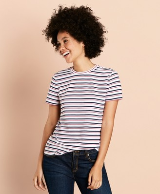 Brooks Brothers Striped Cotton T-Shirt