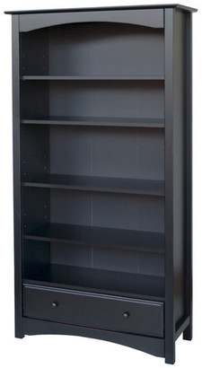 DaVinci Mdb Book Case, Ebony Finish