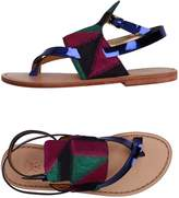 Sanchita Toe strap sandals