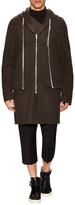 Rick Owens Virgin Wool Solid Coat