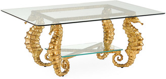 Chelsea House Seahorse Coffee Table - Gold