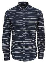 ONLY & SONS Printed Cotton Casual Button-Down Shirt