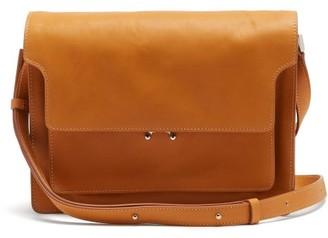 Marni Trunk Small Leather Cross-body Bag - Tan