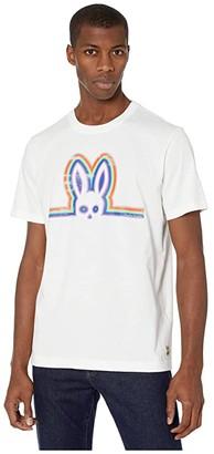 Psycho Bunny Solebay Tee Shirt (White) Men's Clothing