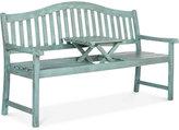 Garad Outdoor Bench, Quick Ship