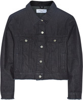 Marques'Almeida for Topshop Cropped frayed denim jacket