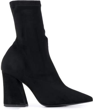 Pollini sock-style ankle boots