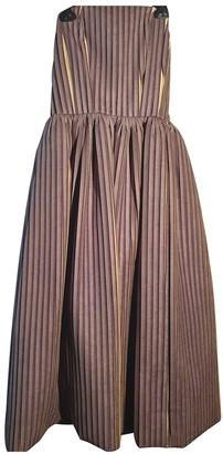 Stella Jean Green Polyester Dresses
