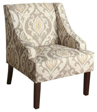 HomePop Finley Swoop Arm Accent Chair