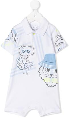 Kenzo Kids Print Mix Body