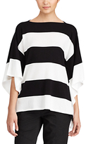 Lauren Ralph Lauren Wide Stripe Jumper, Polo Black/White