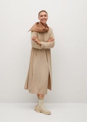 MANGO Long knit cardigan