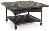 The Well Appointed House Wicker Square Cocktail Table in Variety Colors