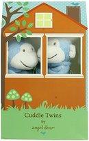 Angel Dear Cuddle Twin Set, Bright Blue Monkey by
