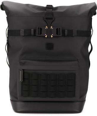 MCM Buckled Large Backpack