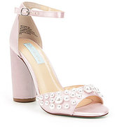 Betsey Johnson Blue by Cara Pearl Dress Sandals